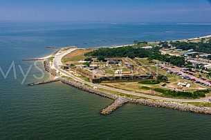 Fort Gaines - Dauphin Island, Alabama