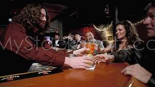 Local Bar - Friends having drinks