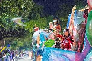 Mardi Gras Parade in Mobile, Alabama