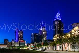 Towers Skyline - Autism Awareness 2015