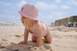 babe on the beach