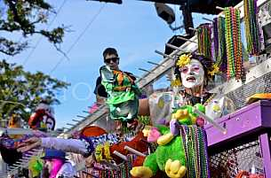 Mardi Gras 2011 - Joe Cain Day Parade