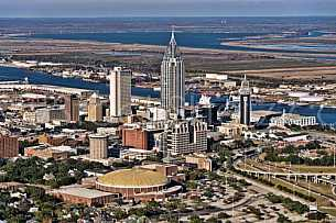 Mobile, Alabama Skyline 2012