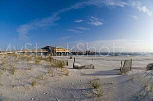 Gulf State Pier after restoration - December 2009