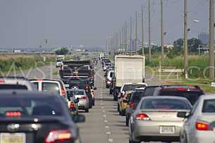 Bayway-Causeway Traffic Jam Backup