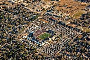 Senior Bowl Aerial