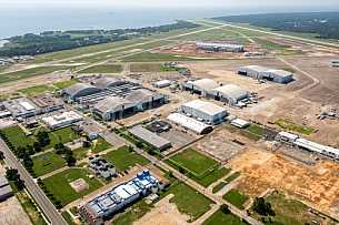 Brookley Aerial August 2014