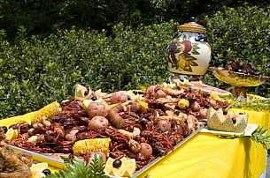 Seafood cookout