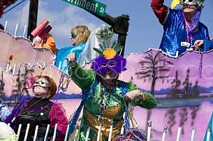 Mardi Gras in Mobile!