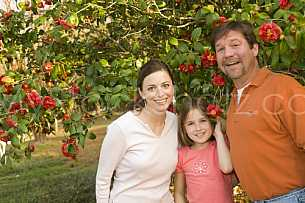 Family at Mobile Botanical Gardens