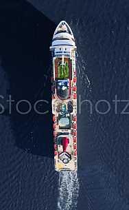Carnival Elation in Mobile Bay