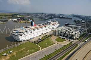 Cruise Ship - Mobile Cruise Terminal