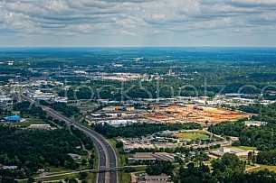 McGowan Park Shopping Center - Aerial