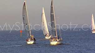 Sailing on Mobile Bay