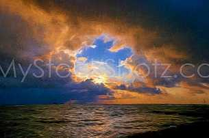 Dauphin Island Sunrise - Artist Touch