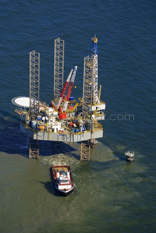 Drilling Rig Gulf of Mexico