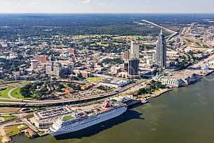 Carnival Fantasy - Mobile Alabama by air