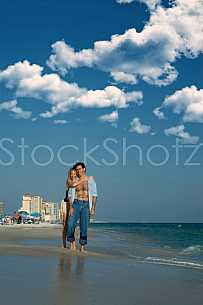 Loving Beach Couple