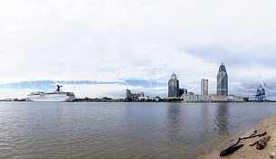 Mobile River Skyline