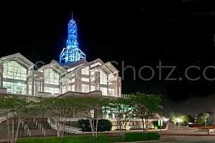 Arthur Outlaw Convention Center - Night Shot