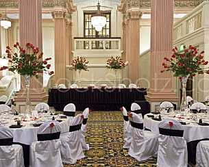 Crystal Ballroom - dinner setup - Common Area - Battle House Hotel / RSA Tower