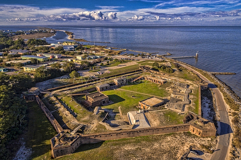 Guardian of Mobile Bay - Fort Gaines - Dauphin Island, AL