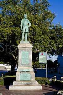 Admiral Raphael Semmes - Statue - Mobile, AL