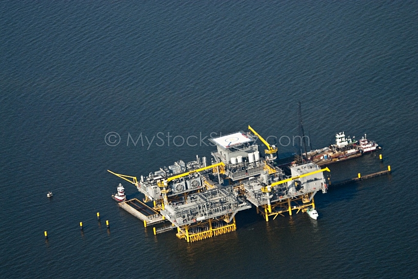 Production Rig - Gulf of Mexico
