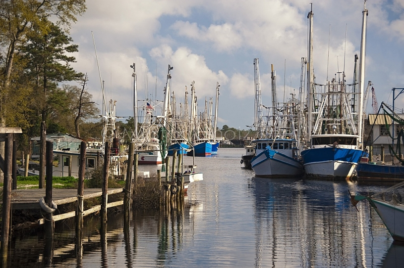 Shrimp Boats at Bayou La Batre