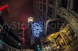 Christmas time in Downtown Mobile