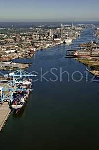 Aerial Mobile Alabama