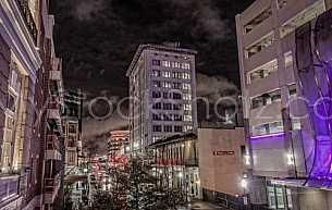 Downtown - Royal Street at night