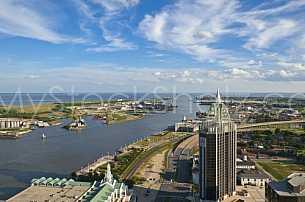 Mobile River scenic view