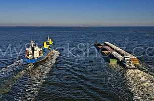 Ship on Mobile Bay