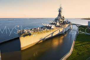 USS Alabama Battleship in Mobile, Alabama