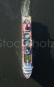 Carnival Elation in Mobile Bay