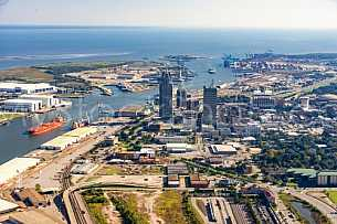 Port of Mobile - Mobile Alabama by air
