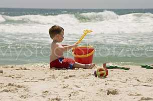 Beach Boy & Bucket