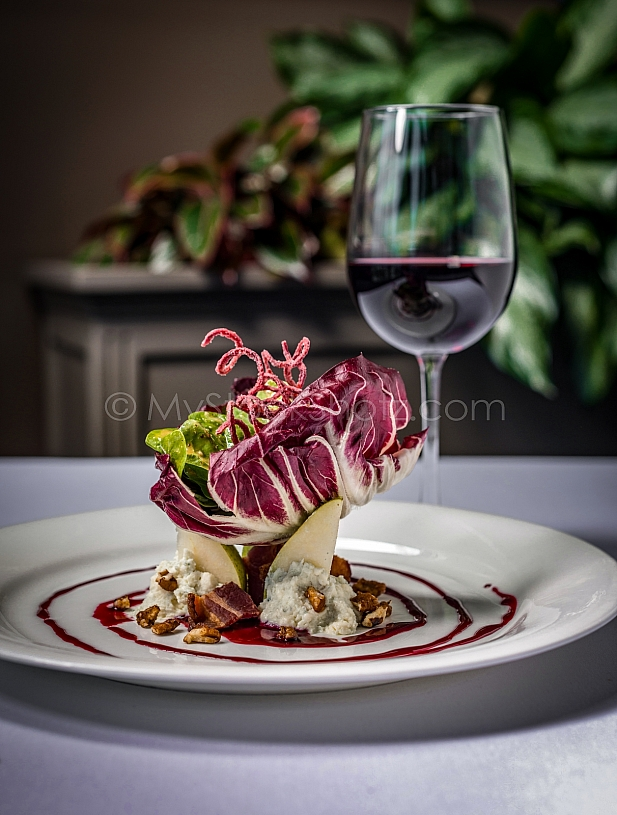 Pear Salad - Fine Dining