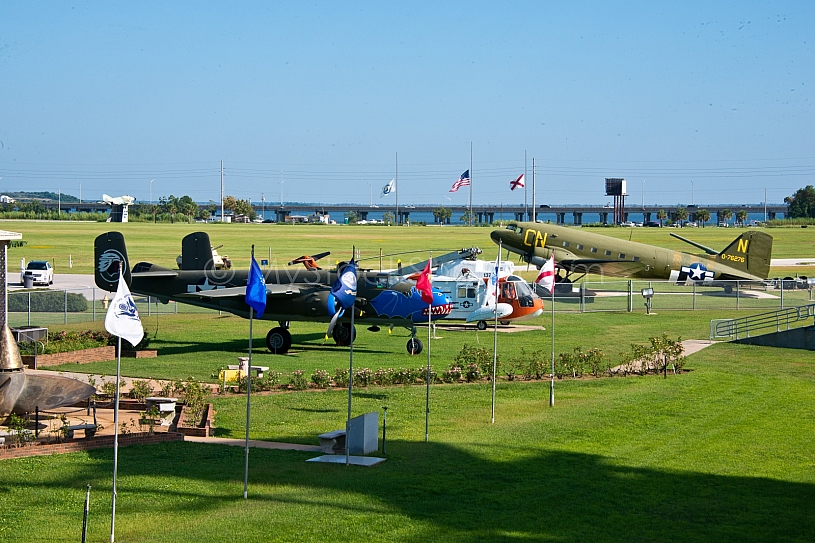 Warbirds at Battleship Park