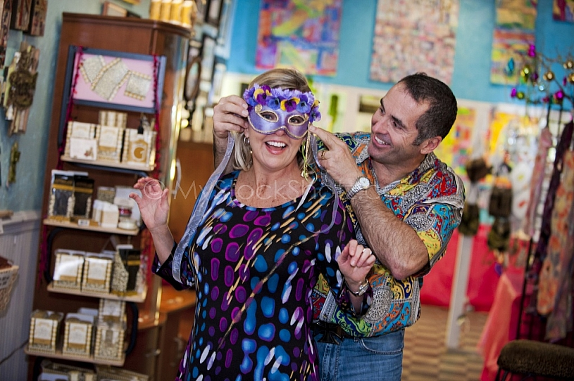 Shopping at Art-ology on Dauphin Street in Downtown Mobile