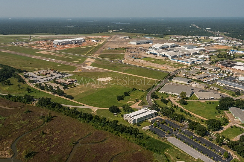 Aerial of Brookley Airport