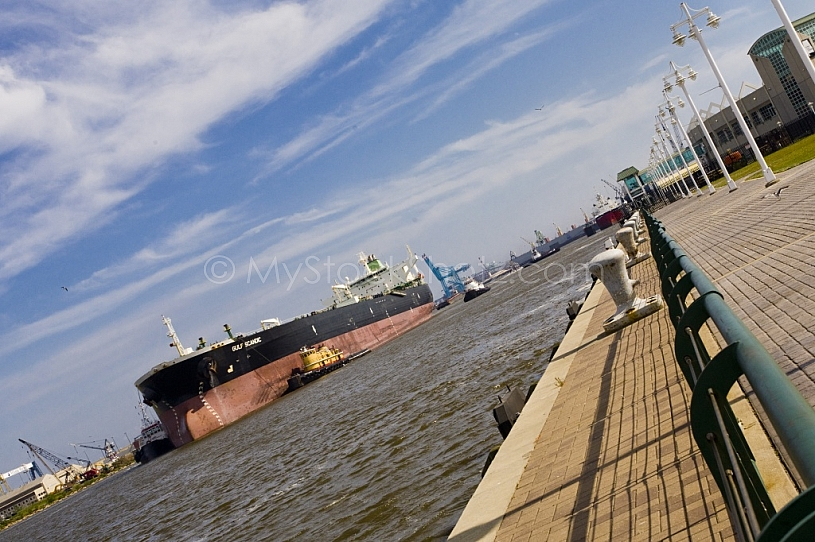 Shiipping Industry in Mobile, Alabama