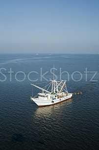 Shrimpboat in the Bay