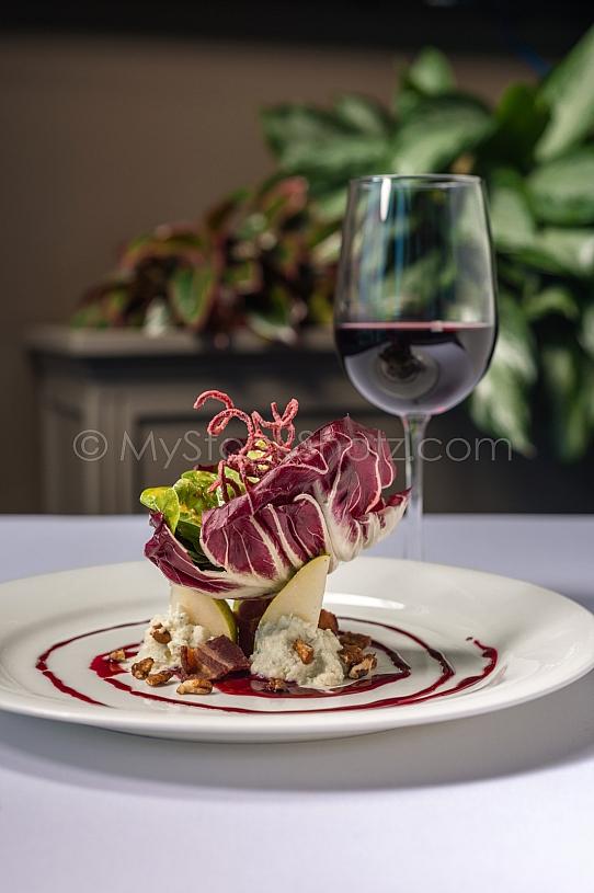 Pear Salad Fine Dining