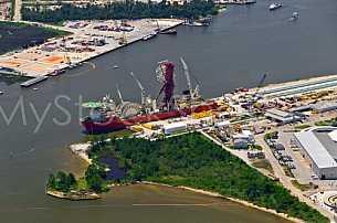 Technip facility at the Port of Theodore, Alabama